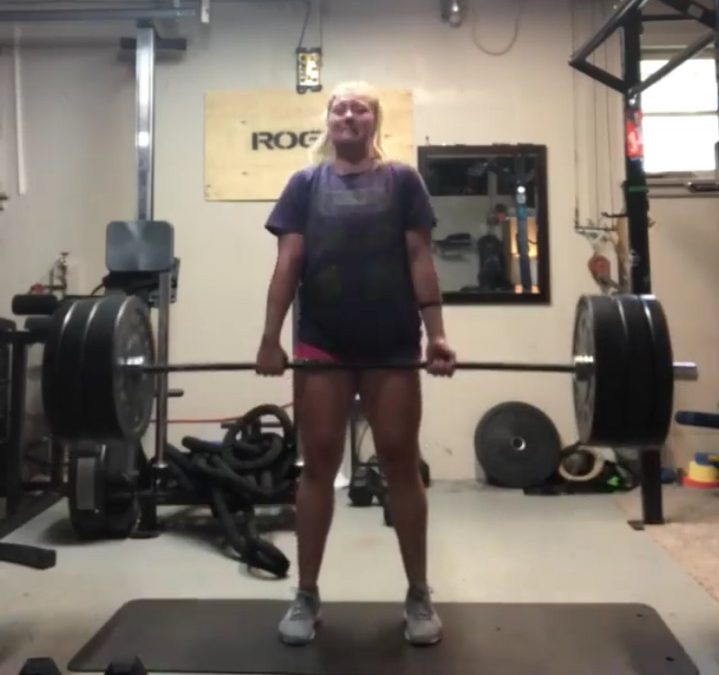 How Amanda Went From Prolapse​ To Deadlifting 265lbs
